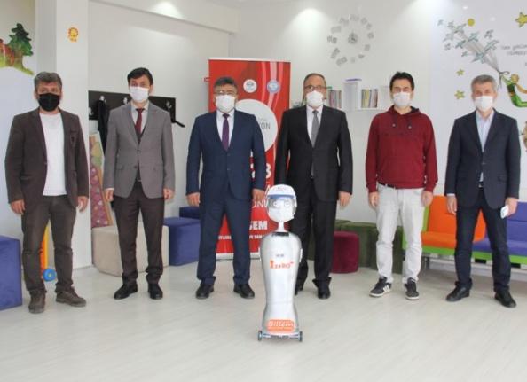 ADIYAMAN'DA DA ROBOT ÜRETİLDİ