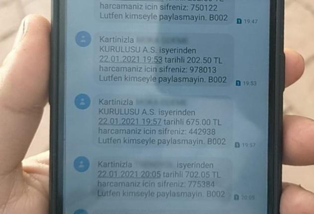MESAJ DOLANDIRICILARINA DİKKAT!